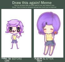 Before After Meme ~ by CookieLatte
