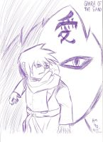 Gaara of the Sand by Arby-Works
