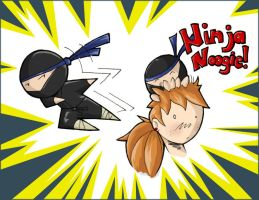 Ninja Noogie by Fugiri-Shi by Cooleyiscool