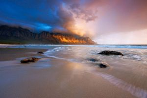 Kogelbay Sunset by hougaard