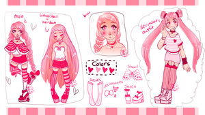 { adopt extra} { sketch/ref page } by hello-planet-chan