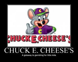 Chuck E. Cheese's by AkiHannah