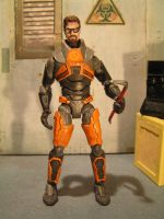 Gordon freeman Action Figure 1 by Taylor-made