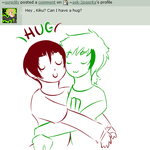 hug kiku by ask-2pgerita