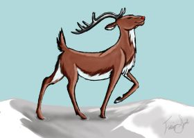 Rudolph the Red-Nosed Reindeer by Emberling