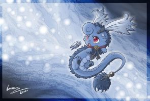 Neras the little dragon by Lumary92