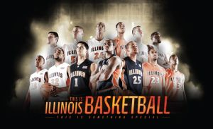 Illinois Basketball 2008-09 by skyrill
