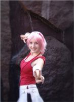 AX 2010 Sakura Haruno by broken-with-roses