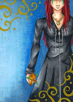 ACEO 06 - Vaex by WeeverWolf