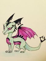 Tak Dragon!!! by FoxDragonLover