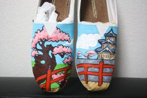 Japanese Shoe comission - male pair by methodmonkey