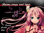 Anime Songs and Lyric App by Fyrokai