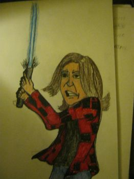 me as a jedi by hardywolf