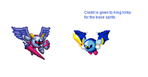 Galacta knight sprite by Noland005