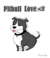Pitbull Love by Jackie-lyn