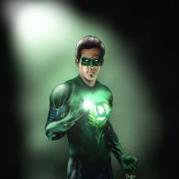 Green Lantern by NothingIs-True