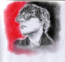 Gerard Way colored version by Lidia6277
