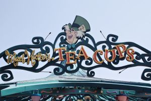 Mad Hatter's Teacups Ride by Mlle-Dreamer