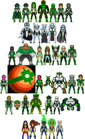 New Amalgam Comics: Green Nova Corps by Red-Rum-18