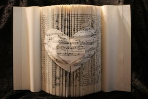 The Joy of Music Book Sculpture by wetcanvas