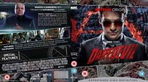 Daredevil BluRay cover by MrPacinoHead