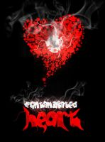 Contaminated heart by corelmania