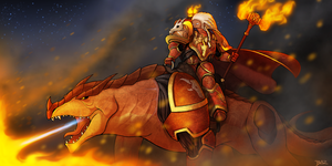 Born in fire, tempered by war by Blazbaros