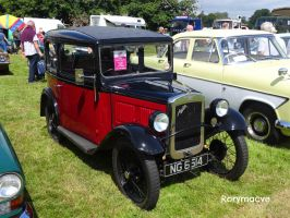1933 Austin Seven RP Saloon by The-Transport-Guild
