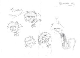 Timmy Sketches... by Witneus