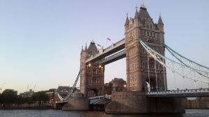 The Towering Bridge of London  by LordNobleheart