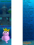 Aquaria Towers Bookmark by weirdnwild91