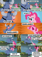 Shippers arguing by SteGhost