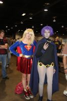Supergirl and Raven by VoiceofSupergirl