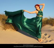 Green Silk 19 by faestock