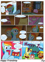 MLP:FIM - Happy Friendship by TikyoTheEnigma