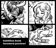 Adventure Time Bubbline Book Foreword Preview! by Rin-Uzuki