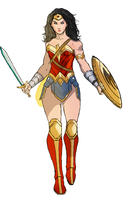 Wonder Woman by spriteman1000
