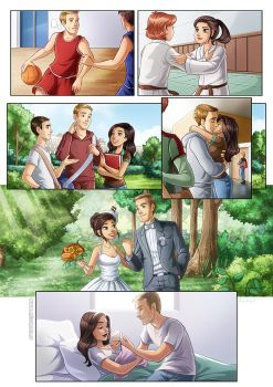 Love story comic by HollyBell