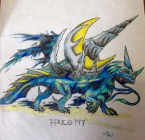 Underling of the Moon: Haloni by Labyrinth-Knights