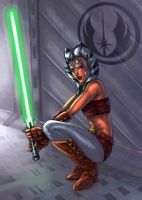 ahsoka colored by vic55b