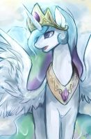 Princess Celestia by mr-tiaa