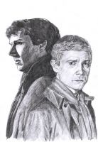Sherlock and John by capconsul