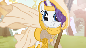 Rarity - Crusader of Light by Beavernator