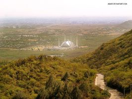 Faisal Mosque by abart