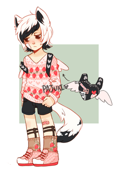 Strawberry babe {not for sale} by Kiwi-adopts