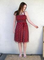 me red dress 4 by PhoeebStock