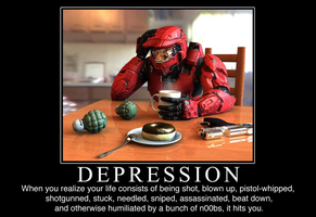 Halo Demotivational Poster by NoobSaibot791