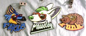 Sunglasses Badges by FablePaint