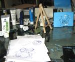 Danny Hennesys workshop by MushroomBrain