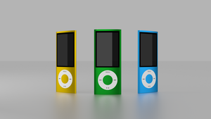 iPod nano 5g by dark-gwydion